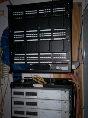 A Bare Relay Rack