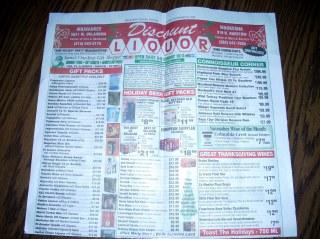Discount Liquor's Sales Paper