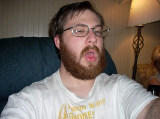Me, fiddling with the camers