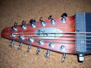 A half-empty headstock and nut flap
