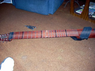 Finished restrung instrument