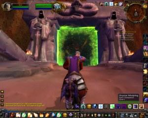The Azeroth side of the Dark Portal