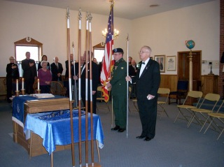 Presentation of the Flag of the United States