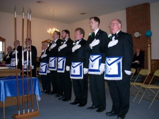 The Officers of George Washington 1776 Lodge #337