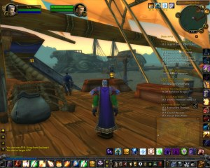 Unknown Vessel at Menethil Harbor