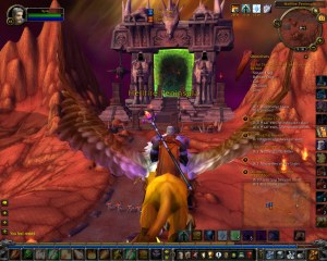 The Dark Portal, Outland Side