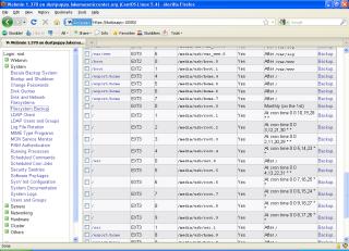 Webmin Backup Manager
