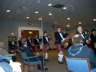 The Lake Lodge Pipe and Drum Corps
