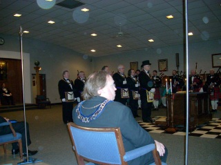 The Grand Lodge of WI Officers