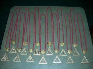 Royal Arch Officers' Jewels
