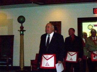 Installing Marshal Bill Van Zyle