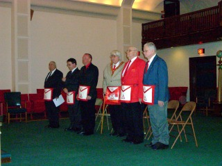 The Officers for the 2010 Capitular Year