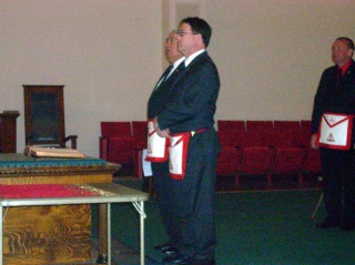 High Priest Elect Mike Clinnin