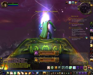 My Head Explodes with Delight as I Complete my Explore Outland Achievement
