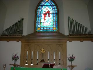First Lutheran Church's Chancel Organ