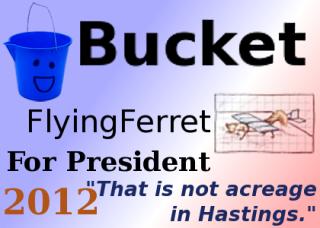 Bucket for President 2012