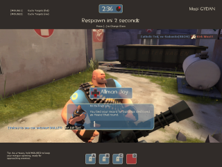 The Heavy certainly isn't compensating for anything...
