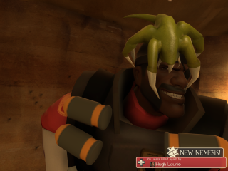 Wow.  He sure looks a lot more civilized in TF2 than he does on House.  (But not as civilized as he did in Blackadder.)