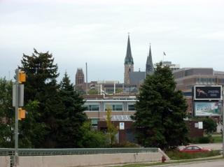 The Marquette University campus