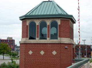 Emmber Lane Bridge control tower