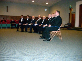 The Officers for 2011 are ready for Installation