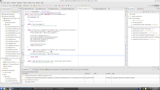 Eclipse Galileo, editing a Stateless Session Bean that's part of a JPA Facade package.