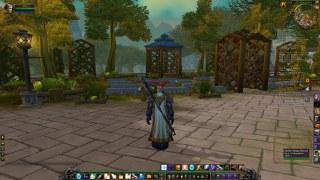 Stormwind's new funeral garden