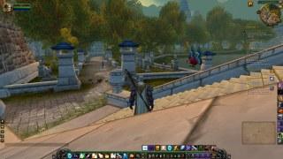 Stormwind's new graveyard, circling the lake