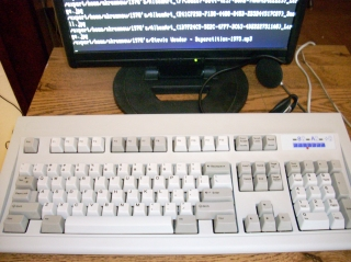 The new IBM Model M keyboard