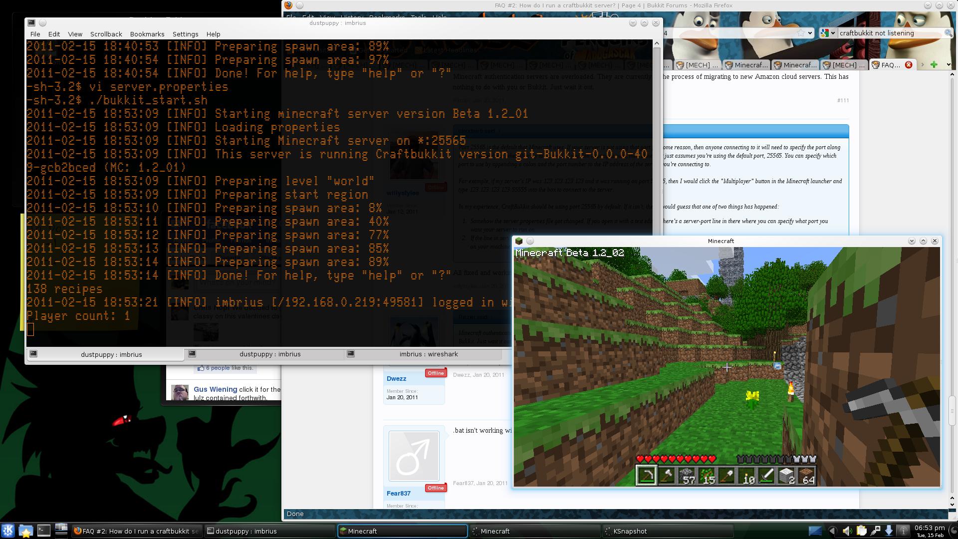 Скачать готовый сервер CraftBukkit для Minecraft 1.8 ...