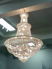 The chandelier that Porters Of Racine couldn't sell