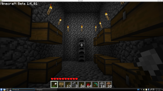 The furnace room