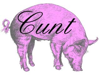 Insult pig