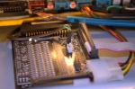 The case lighting controller board