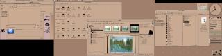 A DECWindows Motif desktop
